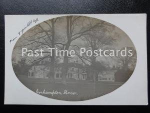Hampshire CORHAMPTON HOUSE c1911 RP Postcard