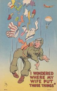 IRBY ; Soldier jumps out of airplane with clothes , no chute , 30-40s