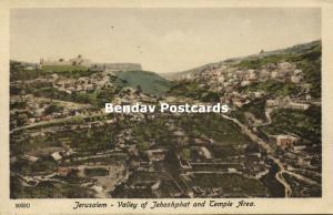 israel palestine, JERUSALEM, Valley of Jehoshphat, Temple Area (1910s) Sarrafian