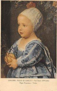 Art Post Card,Old Vintage Artist Postcard Giacomo, Figlio di Carlo Van Dyk, M...
