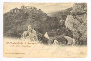 Wilhelmshohe b. Graupen. Sachs, bohm, Erzgebirge., Austria PU-1899