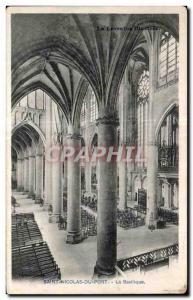 Old Postcard Saint Nicolas du Port Basilica