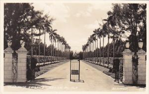 Florida Miami Hialeah Race Course Club House Entrance Real Photo