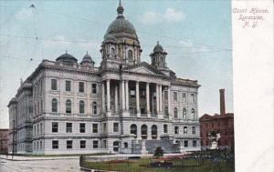 New York Syracuse Court House