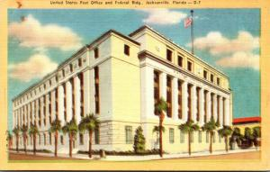Florida Jacksonville Post Office and Federal Building 1943