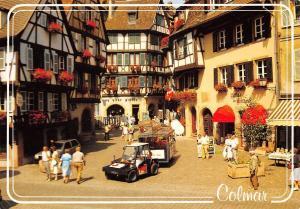 France Regard sur l'Alsace Colmar Street of the Marchands Rue des Marchands