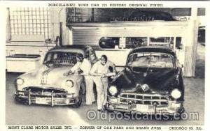 Mont Clair Pontiac, Chicago, Illinois, IL, USA Auto Dealer, Dealership Postca...