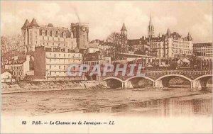 Old Postcard Pau Chateau seen Jurancon