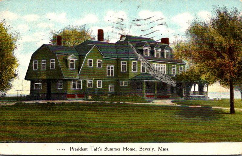 Massachusetts Beverly Summer Home Of President Taft 1909