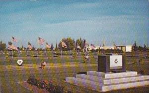 California Fresno Memorial Gardens The Masonic Altar