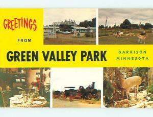 Unused Pre-1980 GREEN VALLEY PARK Garrison Minnesota MN r8558