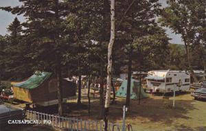 Camping dans la Belle Province,  Quebec,  Canada,  40-60s