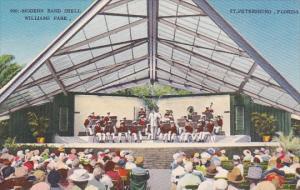 Florida Saint Petersburg Modern Band Shell Williams Park