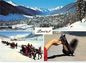 B109667 Switzerland Davos gegen Rinerhorn Tinzenhorn Piz Mitgel