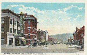 MIDDLESBORO , Kentucky, 1900-10s ; Cumberland Avenue