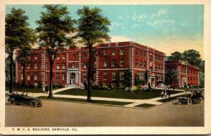 Illinois Danville Y M C A Building Curteich