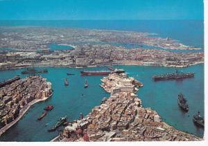 Grand Harbour , Malta , 50-70s