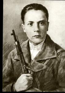 137068 WWII RUSSIAN Nikolay KEDYSHKO Komsomol Hero of USSR