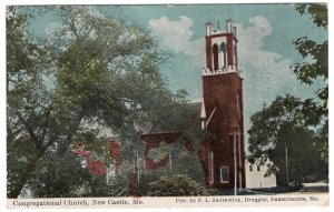 New Castle, Me, Congregational Church
