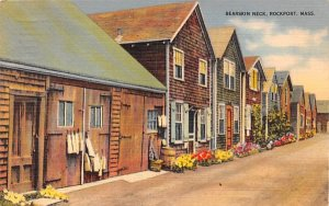 Bearskin Neck Rockport, Massachusetts Postcard