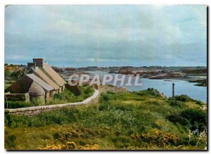 Postcard Modern Colors and Light of Brehat France Cotes The North Channel is ...
