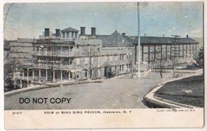View of Sing Sing Prison, Ossiniing NY