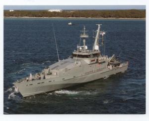 POSTCARD AUSTRALIA  NAVY SHIP PATROL BOAT BATTLESHIPS WAR SHIPS