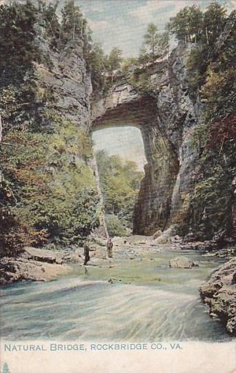 Virginia Rockbridge Company Natural Bridge 1909