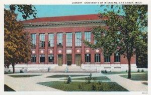 ANN ARBOR , Michigan , 1910s , University Library