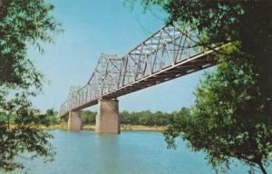 Audubon Memorial Bridge - Ohio River Evansville IN Indiana to Henderson Kentucky