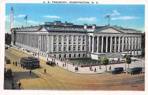 U.S. Treasury, Washington, D.C., Early Postcard, Unused