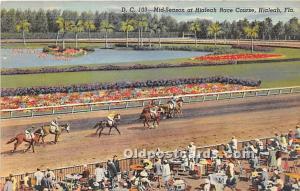 Mid Season at Hialeah Race Course Hialeah, Florida, FL, USA Horse Racing Unused