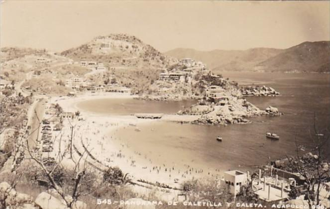 Mexico Acapulco Panorama De Caletilla Y Caleta Photo