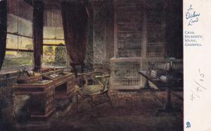 KENT, England, United Kingdom; PU-1905: Charles Dickens's Study, Gadshill, TUCK