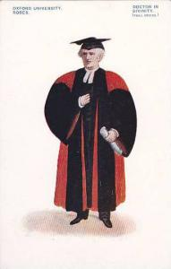 Doctor In Divinity, Robes, Oxford University, Oxford, England, UK, 1900-1910s