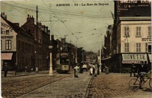 CPA AMIENS - La Rue de Noyon (515559)