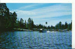 Canada Postcard - Boat Deck at Temagami Provincial Park - Ontario - Ref 16553A