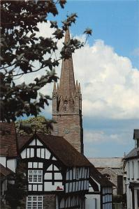 Weobley Tower Clock Church Herefordshire