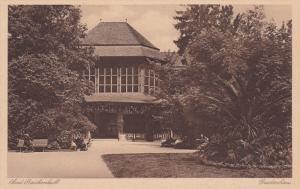 BAD REICHENHALL, Bavaria, Germany, 1900-1910's; Gradierhaus