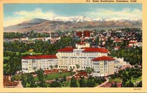 California Pasadena Hotel Huntington Curteich