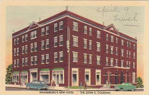 Swainsboro New Hotel, The John C. Coleman, Georgia, 30-40s