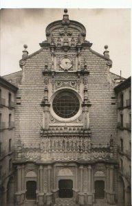 Spain Postcard - Montserrat - Front of The Church - Ref 17062A