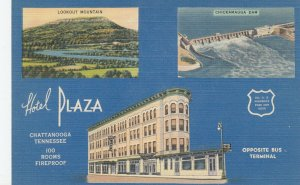 CHATTANOOGA, Tennessee, 1930-40s; Hotel Plaza
