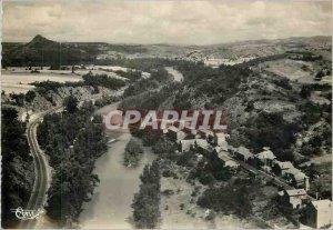 Postcard Modern Surroundings of La Combelle P D Le Saut du Loup Aerial view