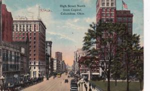 COLUMBUS , Ohio , 1910 ; High Street , North