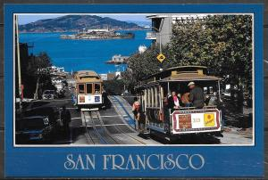 California, San Francisco, Cable Cars, Alcatraz, unused