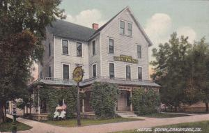 CAMBRIDGE , Illinois , 1900-10s ;  Hotel Quinn