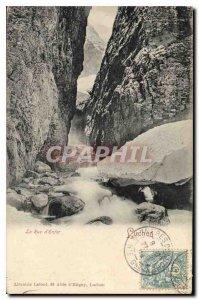 Old Postcard Luchon La Rue d'Enfer