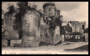 Ensemble de la Tour Louis XI,Loches,France BIN