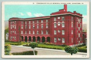 Johnstown Pennsylvania~Connemaugh Valley Memorial Nurses Home~Nurses Side~1939
